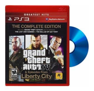 Juego Ps3 Gta4 Grand Theft Auto 4 Gta 4 Complete Edition