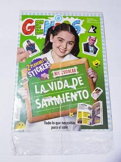 Revistas Genios Nuevas.ver Fotos Y Descripción. Precio C/u