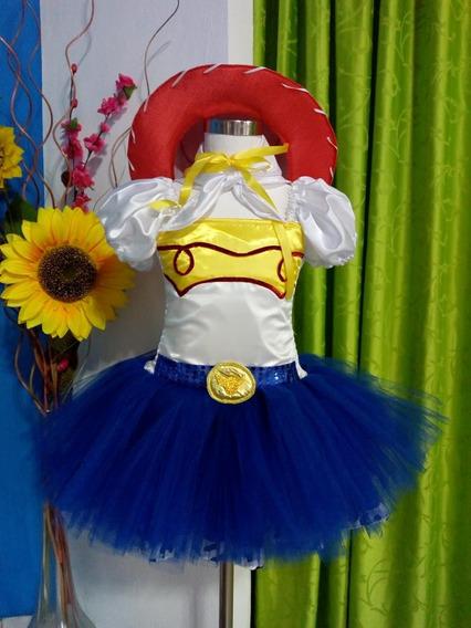 Disfraz Fantasia De Jessie La Vaquerita - Nenas Desde 1 Año