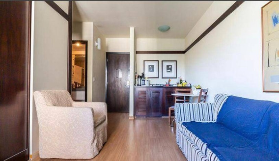 Flat Com 1 Dormitório À Venda, 35 M² Por R$ 212.000 - Alphaville Industrial - Barueri/sp - Fl0007
