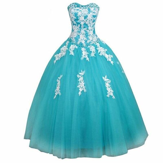 Hermoso Vestido De 15 Años Color A Eleccion