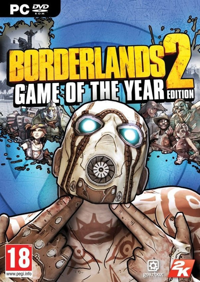 Borderlands 2 Goty Pc - 100% Original (steam Key)