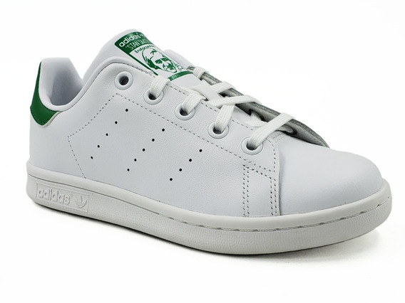 adidas Stan Smith C Verde Niño Ba8375 Original