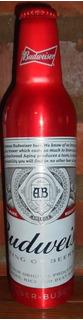 Botella Cerveza Budwieser De Alumiño De Usa Llena Coleccion