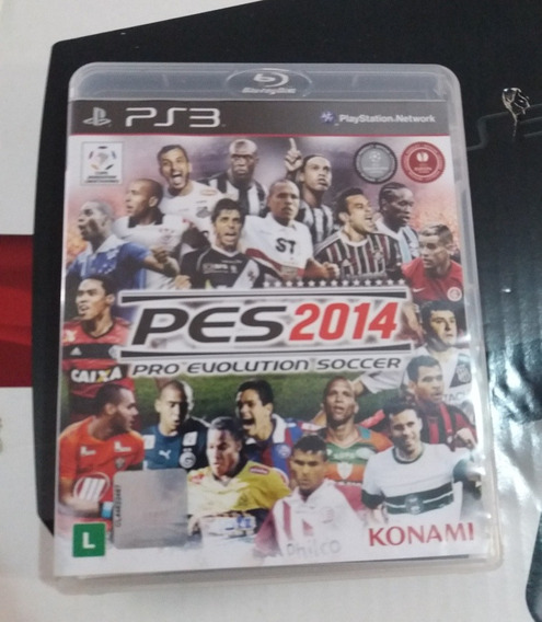 Pes 2014 Original Ps3 Mídia Física