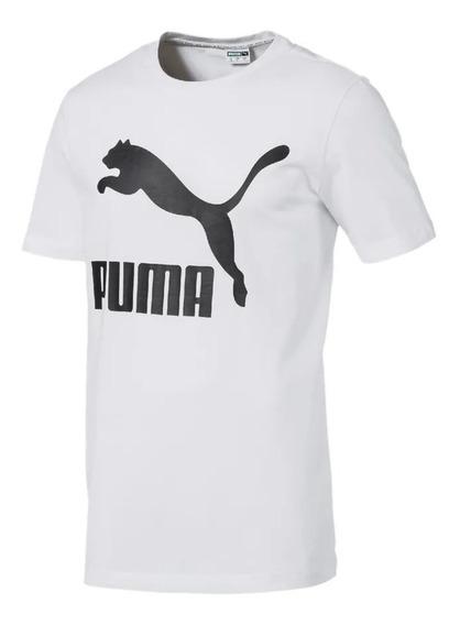 Puma Remera M/c Lifestyle Mujer Classics Logo Blanco Fkr