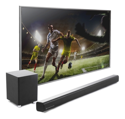 Home Theater T&v Dunn Bluetooth Sin Cables Smart Tv