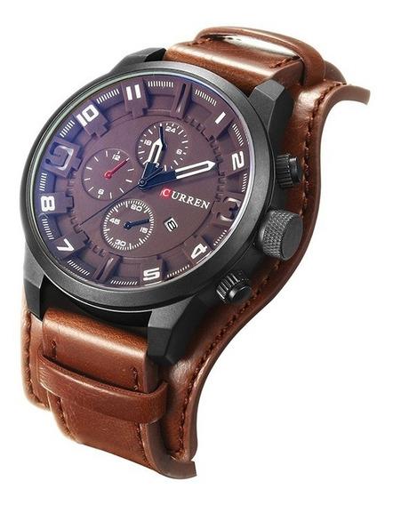 Relógio Masculino Curren Lux Esportivo Quartz Analógico 8225