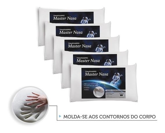 Kit 6 Travesseiros Nasa Viscoelástico - Pacote Soft Familia