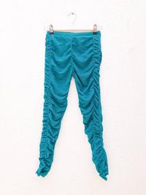 Leggings Brillosos Con Drapeado, Zara Girls, Talla 13-14