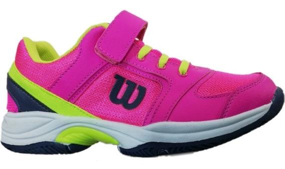 Zapatillas Wilson Set Kids 2.0 Jr Niño Niña