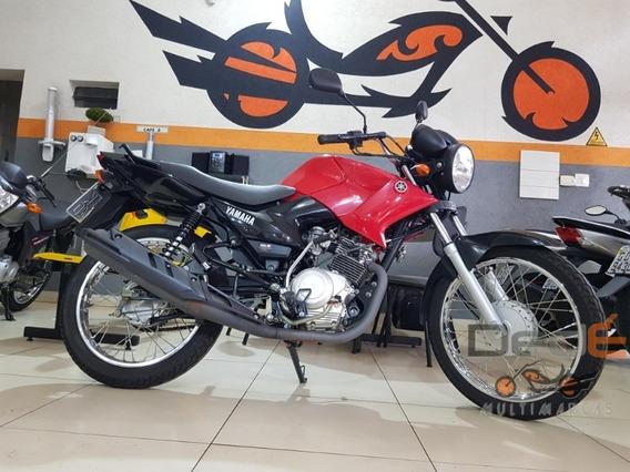 Yamaha Ybr 125 Factor K Vermelho 2016