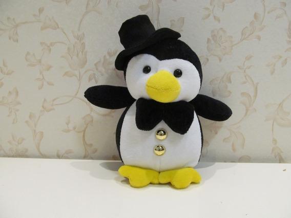 Pinguim Noivo De Pelúcia