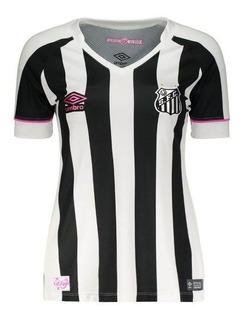 Camisa Umbro Santos Ii Sereias 2018 Feminina