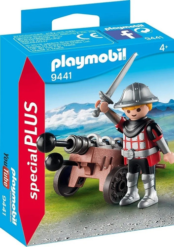 Playmobil Caballero Del Cañon 9441 Original Edu Full