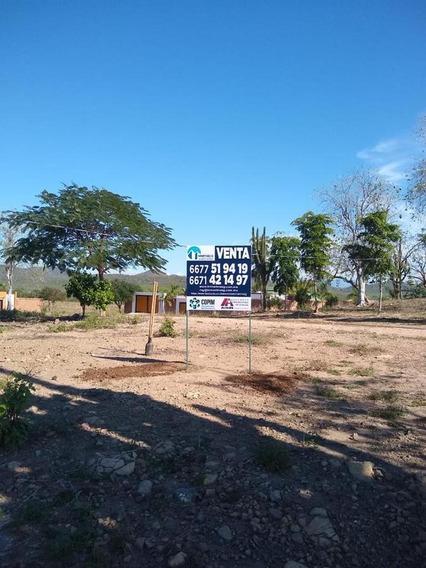 Terreno En Venta Fracc. Campestre El Toro Culiacán, Sin. $980,000