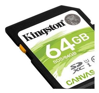 Cartão Memoria Para Cameras Fotograficas E Filmadoras 64gb