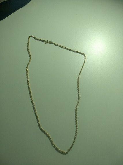 Colar/ Corrente Ouro 18k - 3gr- Feminino