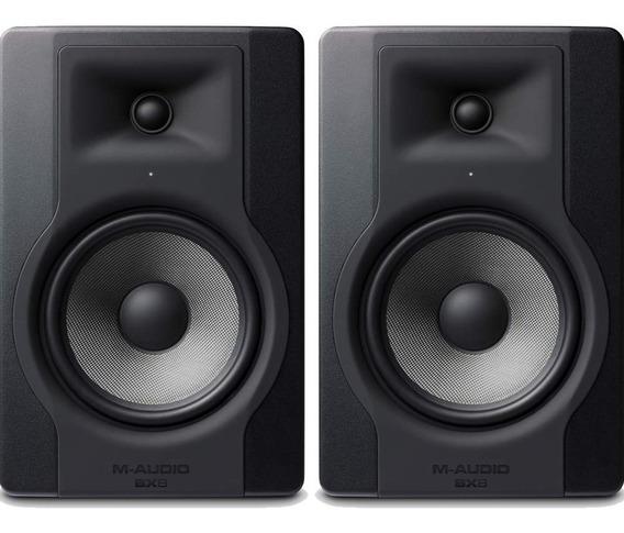 M-audio Bx8 Dx3 Monitor De Áudio Ativo 8