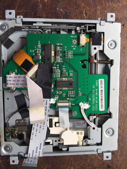 Mecânica Com Unidade Completa Dvd Booster Mod Bmtv9950dvusbt