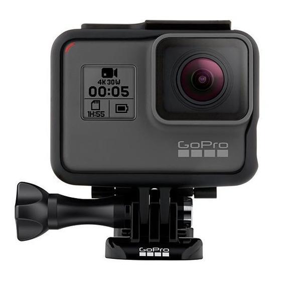 Câmera De Ação Gopro Hero 5 Black Adventure 12mp C/ Comando