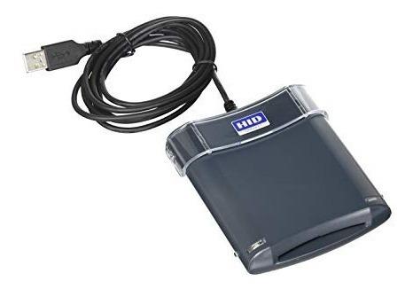 Leitor De Smart Card Contactless Modelo 5325 Usb Prox 125 Hz