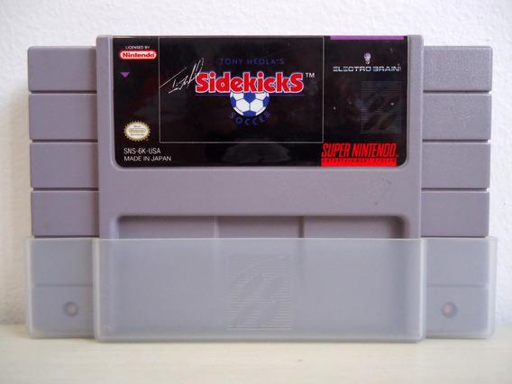 Cartucho Super Nintendo Sidekicks Ótimo Estado!!