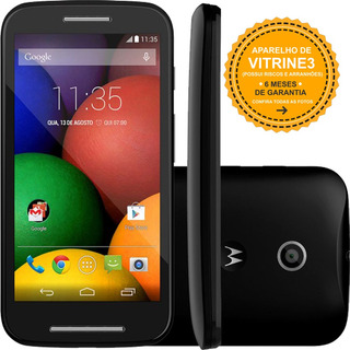 Smartphone Moto E Xt1021 4gb Single 3g 5mp Preto Vitrine 3