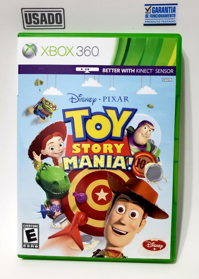 Jogo Toy Story Mania - Xbox 360 - Mídia Física Usado