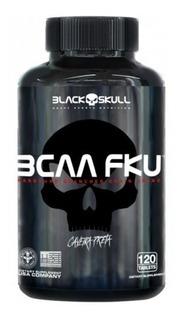 Bcaa Fku - 120 Tabletes - Black Skull (caveira Preta)
