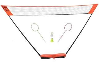 Set Red 3 M + Raquetas Artengo Easy Naranja 8374165 2