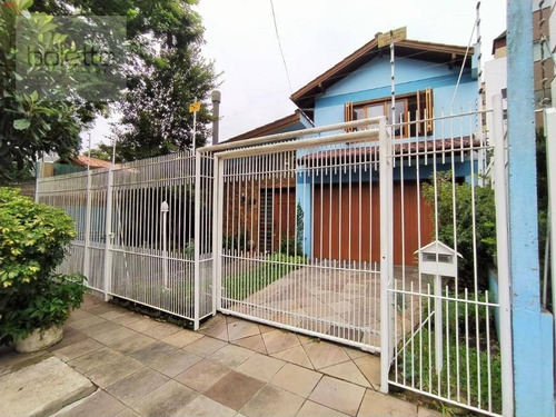Casa Com 5 Dormitórios, 430 M² - Venda Por R$ 2.100.000,00 Ou Aluguel Por R$ 12.000,00/ano - Passo D'areia - Porto Alegre/rs - Ca0264