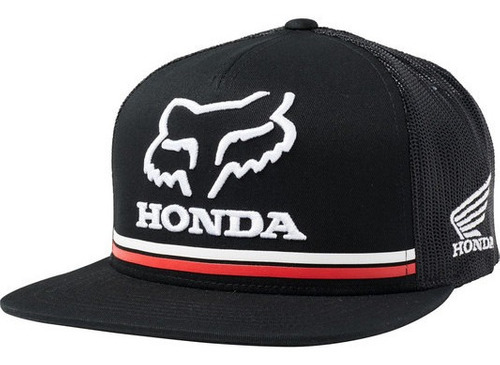Imagen 1 de 4 de Gorra Mtocross Fox Honda Snapback #22996-001
