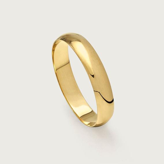 Aliança De Noivado Ou Casamento Em Ouro 18k.