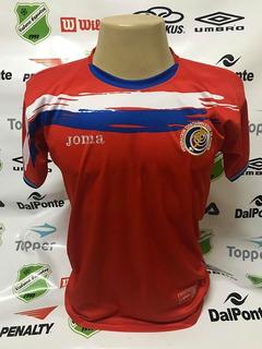 Camisa Oficial Seleção Costa Rica Unif 1 Tam G Peq. Defeito