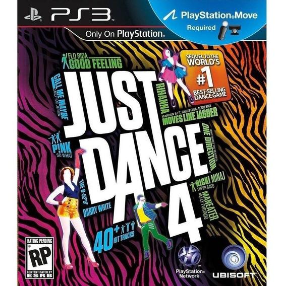 Just Dance 4 Ps3 - Leia Descrição