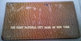 Memorabilia First National City Bank Of New York Cheques