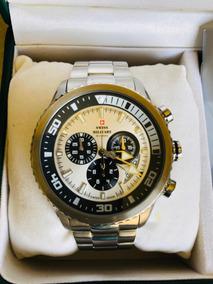 Relógio Suiço Original Swiss Military Sm34042 Top De Linha