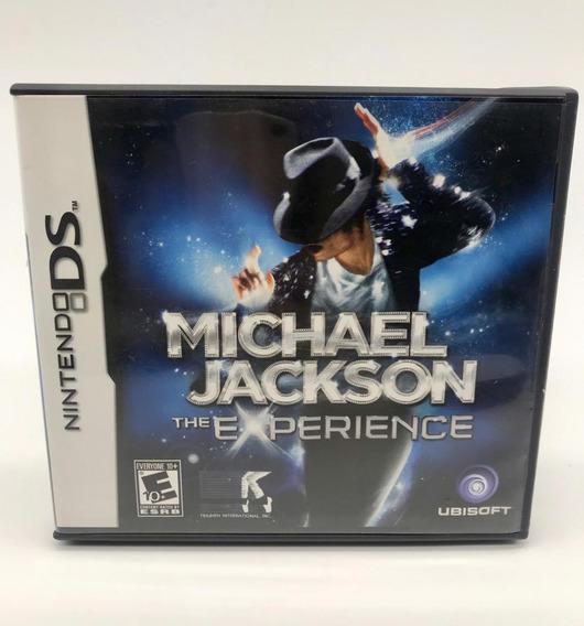 Michael Jackson The Experience Nintendo Ds Original Completo