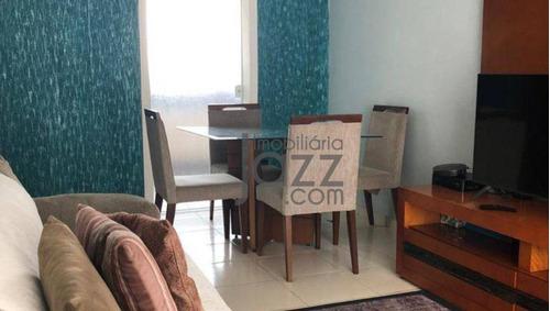 Apartamento Com 2 Dormitórios E Móveis Planejadsos À Venda, 65 M² Por R$ 245.000 - Jardim São Roque - Americana/sp - Ap5596