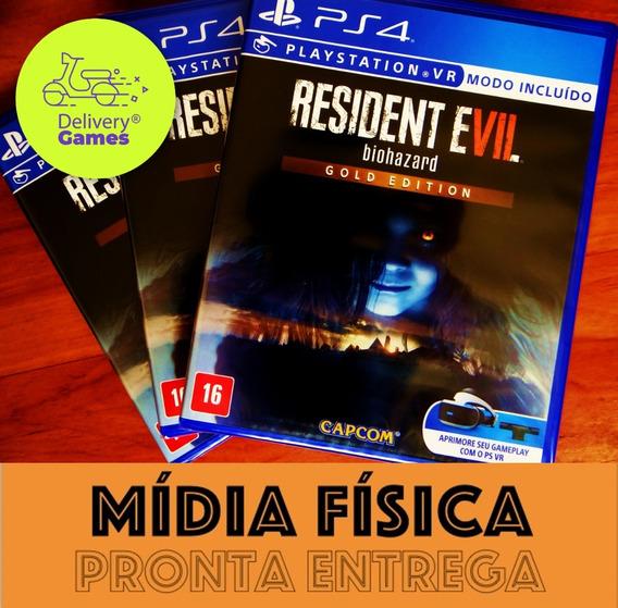 Resident Evil 7 Gold Edition Ps4 Lacrado Mídia Física