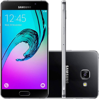 Samsung Galaxy A7 2016 16gb 3gb Ram 13mp Preto Vitrine 1