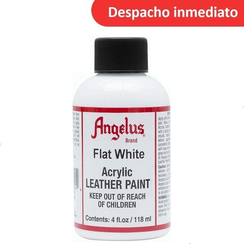 Imagen 1 de 2 de Angelus Flat White Blanco Acrilica 4oz Importado U S A