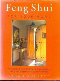 Livro Feng Shui For Your Home Sarah Shurety