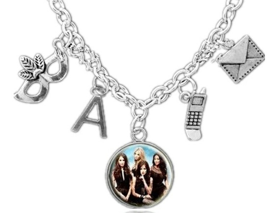 Colar Pretty Little Liars Mentirosas Novo Pronta Entrega