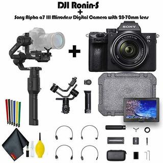 Dji Ronin-s Plus Sony Alpha A7 Iii Mirrorless Digital Cama ®