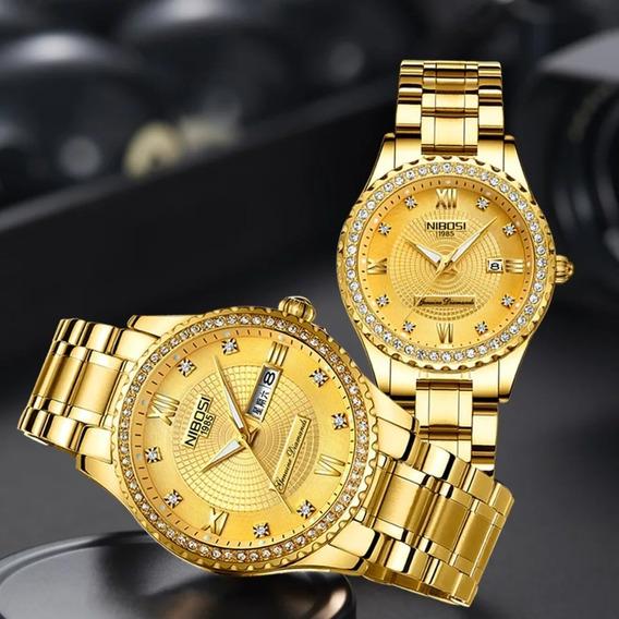 Relógio Feminino Resistente A Água