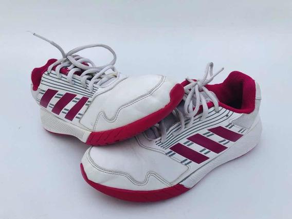Zapatillas Cuero adidas Dama Deportivas Usadas Como Nuevas