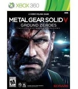 Metal Gear Solid V:ground Zeroes Xbox 360 (requer Hd)