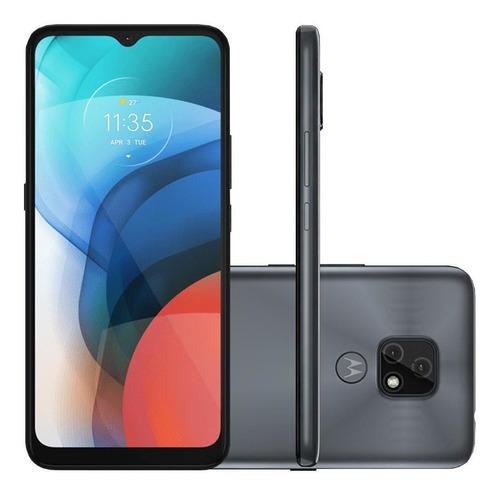 Imagem 1 de 5 de Celular Motorola Moto E7 Cinza 32gb Cam Dupla 48mp 2mp 2gb